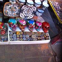 Talavera y cerámica poblana