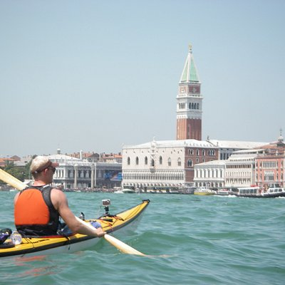 Kayaking in Venice