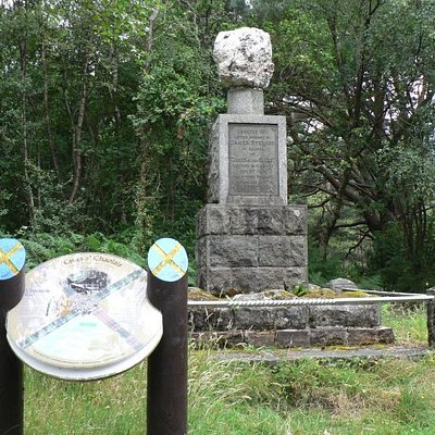 James Stewart Memorial Ballachulish.