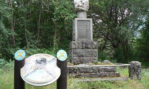 James Stewart Memorial Ballachulish.