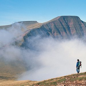 A stunning day walking in the Brecon Beacons
