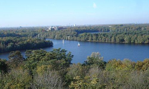 Blick auf die Sechs-Seen-Platte