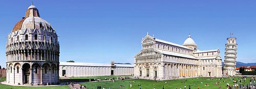 Cycle Tour starts in Pisa