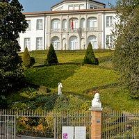 La facciata del Museo Vincenzo Vela