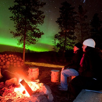 Comfortable Northern Lights Viewing