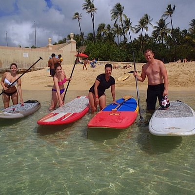 Stand Up Paddle boarding Lessons with Massimo Sport Hawaii Activities