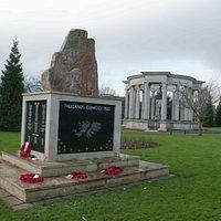 Memorial in the park