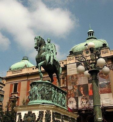 Prince Michael monument, Republic Square