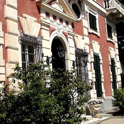 Villa Durazzo - ingresso