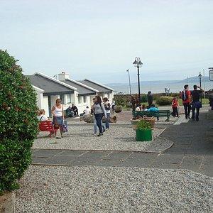 A nice summer's day at Ceardlann / Spiddal craft & Design