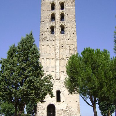 Torre mudéjar de San Nicolás, Coca, Segovia.