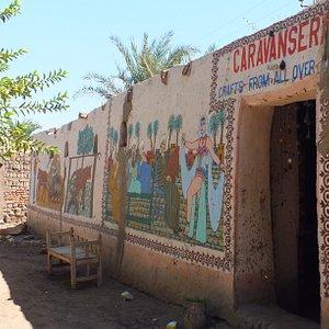 Caravanserai - painted walls