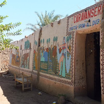Caravanserai - painted walls