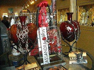 The Store's Valentine's display...