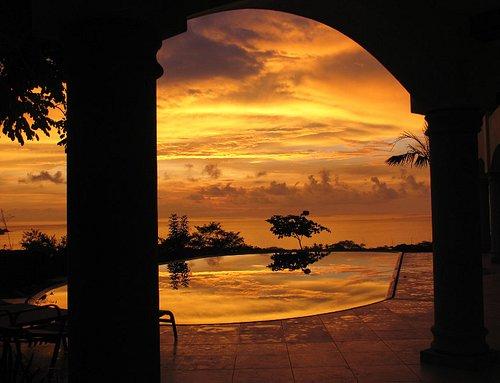 Sunset at Villa Cocobolo