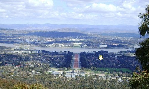 View from Mt. Ainslie