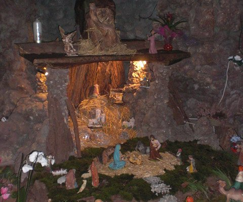 Il presepe della chiesa di Grazzano Visconti/2