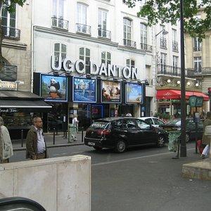 Odeon movie next to the Metro.