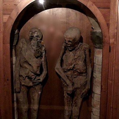 Il Cimitero delle Mummie nella Chiesa dei Morti