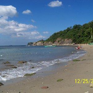 the beach at Munting Buhangin