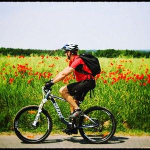 Real mountain bike tours in Prague