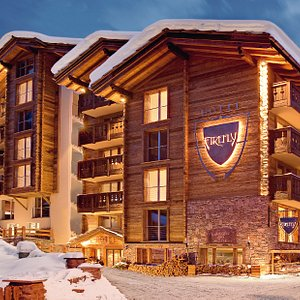 Das Hotel Firefly im Winter
