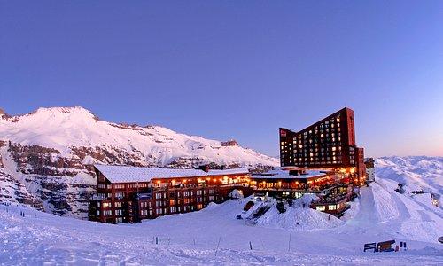 Valle Nevado Ski Resort Chile