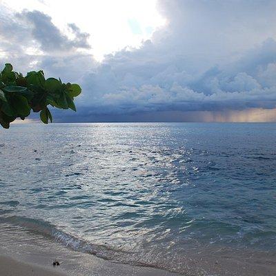 Sunset Beach on an Overcast Day