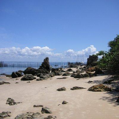 Strand in Richtung Morro