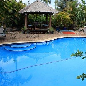 Vue 1 piscine