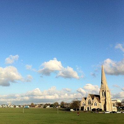 all saints church on Blackheath