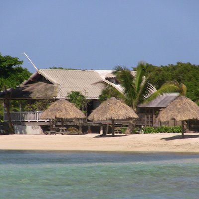 Cayos Cochinos main island