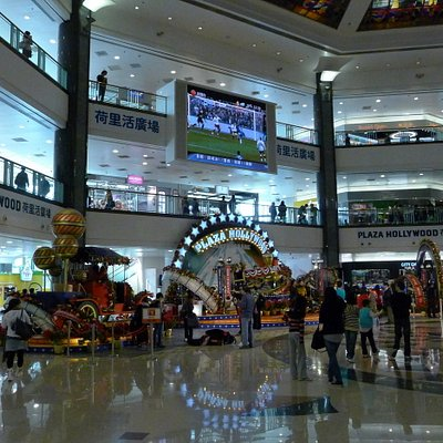 Inside Plaza Hollywood Shopping Mall