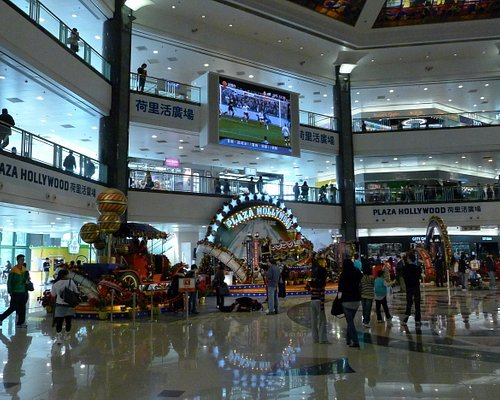 Inside Plaza Hollywood Shopping Mall