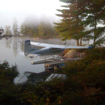 aircraft on lake