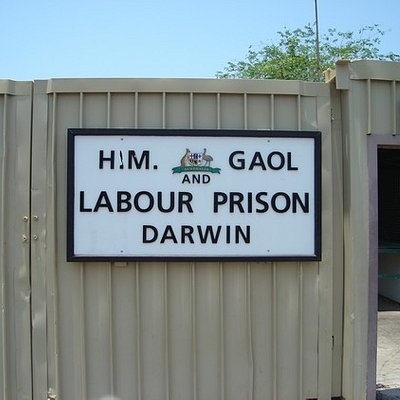 Entrance to Gaol