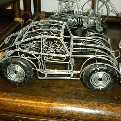 Volkswagon from wire