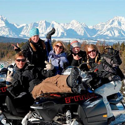 Take a day off from skiing and soak in the beauty of the Tetons!