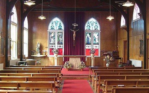 St Marys Catholic Church Stanley Falkland Islands