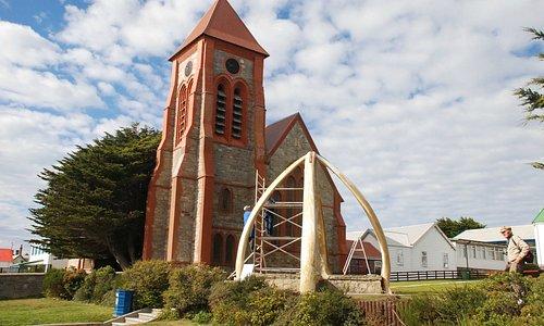 Whalebone Display Stanley Falkland Islands