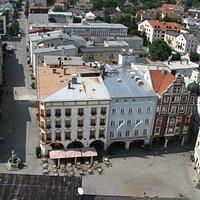 Blick auf den Max-Josefs-Platz