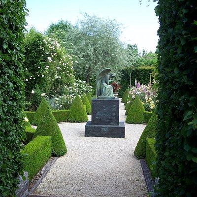 Part of the Monastery garden