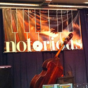 The stage of the Notorious Jazz Club