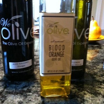 olive oils and vinegar from We Olive.