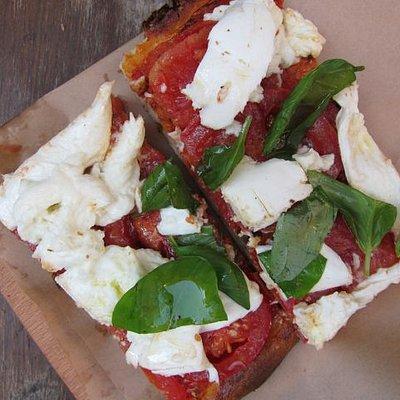 Pizza at Roscioli