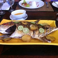 Nice fresh seafood