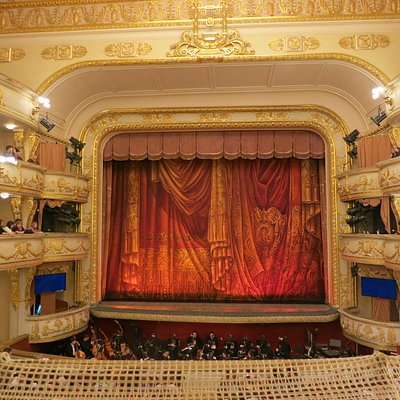 view of the opera stage