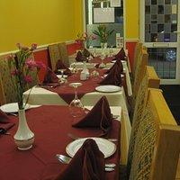 Inside our restaurant