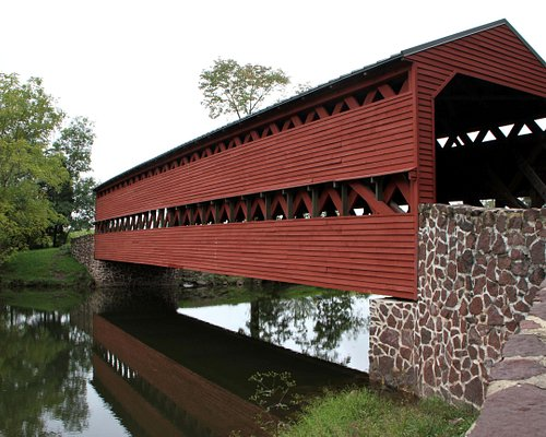 Sachs Covered Bridge - Marsh Creek
