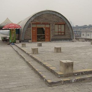 The entrance to Xi'an City Wall Museum